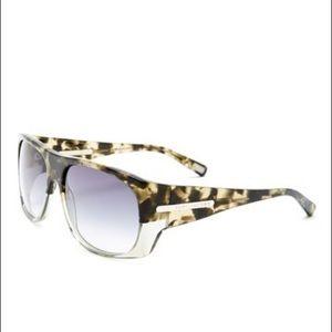 Marc Jacobs Green Havana Sunglasses w/Grey Lenses